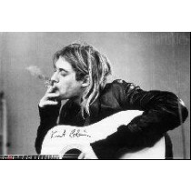 "Kurt Cobain ""Smoking"" - Plakat"