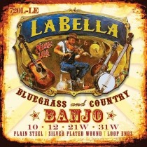 LaBella Acoustic Folk string set tenor banjo 720L-LE