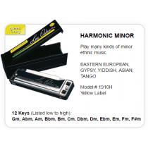 LEE OSKAR Harmonic Minor - 1910HM-Gm - G-MOLL - Munnspill