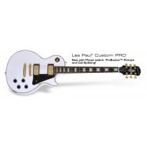 Epiphone Les Paul Custom PRO w/Probucker & Coil-Split - Alpine White