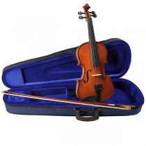 Leonardo LV-1512 - Prisgunstig halvstørrelse fiolin med kasse og bue