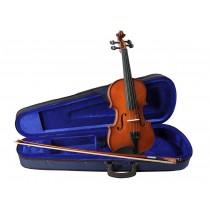 Leonardo LV-1544 - Prisgunstig fullstørrelse fiolin med kasse og bue.