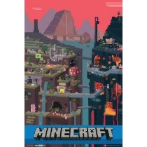 "Minecraft ""World"" - Plakat"