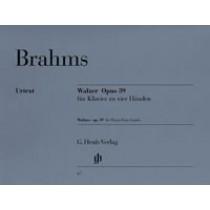 Walzer op. 39 - Piano 4-hendig Johannes Brahms
