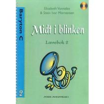 Midt i Blinken Baryton C bok 2 - F-nøkkel m/CD