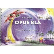 Opus Blå - Klaverskole for nybegynnere