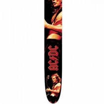 "Perri's P25ACDC-1028 - 2.5"" AC/DC Leather Strap"
