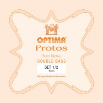OPTIMA P.1300.1.2 Protos Double Bass Set 1/2