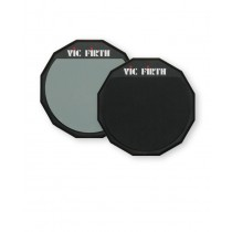 "Vic Firth PAD6D Øvelsespad 6"", Gummi. 2-Sidig (Soft/Hard)"