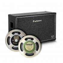 Palmer CAB212 V30 + Greenback 8/16 Ohm, 50W, Open Back