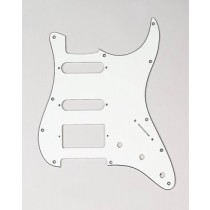 ALLPARTS PG-0995-050 1HB 2SC Parchment 3-ply Pickguard for Stratocaster