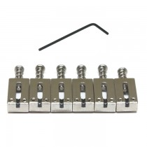 Graph Tech PG-8220-00 String Saver Classics Saddles PRS Style Trem (6 Pcs) - Stainless Steel