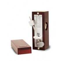 NIKKO METRONOME Wooden Mini Wine Color