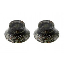 ALLPARTS PK-0149 Set of 2 Speckled Bell Knobs