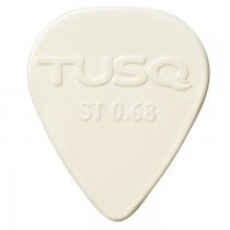 Graph Tech PQP-0068-W6 TUSQ Standard Pick .68mm White (Bright) - 6 Pack
