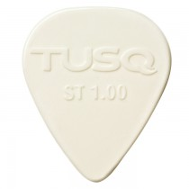 Graph Tech PQP-0100-W6 TUSQ Standard Pick 1mm White (Bright) - 6 Pack