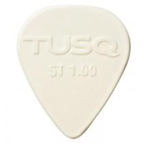Graph Tech PQP-0100-W6 TUSQ Standard Pick 1mm White (Bright) - 6 Pack