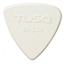 Graph Tech PQP-0402-W4 TUSQ Bi-Angle Pick 2mm White (Bright) 4 Pack