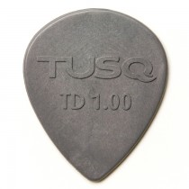 Graph Tech PQP-0501-G6 TUSQ Tear Drop Pick 1mm Gray (Deep) 6 Pack
