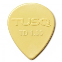 Graph Tech PQP-0501-V6 TUSQ Tear Drop Pick 1mm Vintage (Warm) 6 Pack