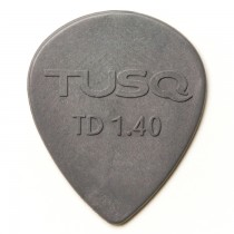 Graph Tech PQP-0514-G6 TUSQ Tear Drop Pick 1.4mm Gray (Deep) 6 Pack