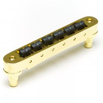 Graph Tech String Saver Resomax NV2 Autolock Bridge 4mm-Gold
