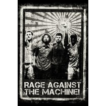 "Rage Against the Machine ""Distressed"" - Plakat"