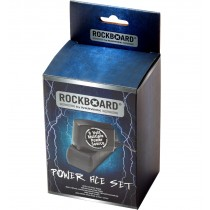 RockBoard Power Ace Set, 9V DC 1.7A Power Adapter + Accessory Cables