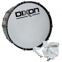 """Dixon PMZ-8418 Marching Basstromme 18""""x 14"""", White (5,6 kg)"""
