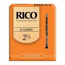 Rico RCA1025 - 2,5 flis til klarinett, 10 stk
