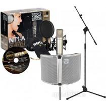 Røde NT1-A Studio Kit bundle m/støyskjerm og stativ