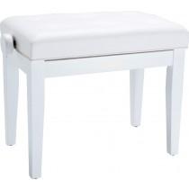 Roland RPB-300WH Piano Bench - Justerbar pianokrakk, hvit finish
