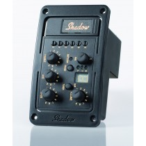 Shadow SH 4020-A -NFX-6 Komplett stereo mikrofonsystem for innbygging i westerngitar