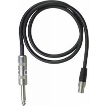 Shure WA302 - Instrument cable for transmitters, TA4F/jack