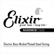 Elixir 15405 Nanoweb Electric Bass Single String .105 - Enkeltstreng til el.bass