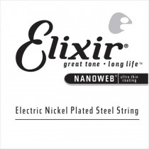 Elixir 15254 Nanoweb Nickel Plated Electric - Wound single string .054