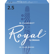 Rico Royal RCB1025 flis til klarinett 2,5
