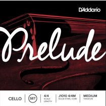 D'Addario J1010 4/4M Prelude cello set