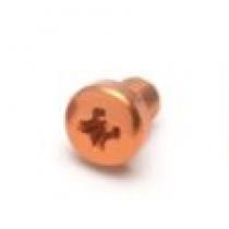 KMMK SquarePlug M3x4/O - Fargeskrue, oransje