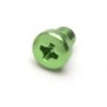 KMMK SquarePlug M3x4/G - Fargeskrue, grønn