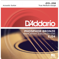 D'Addario EJ24 .013-.056 True Medium Gauge