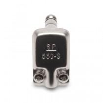 KMMK SquarePlug SPS550-S Right Angle Plug - vinkeljack, TRS / Stereo