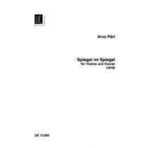 Spiegel im Spiegel Arvo Pärt Violin/Piano