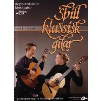Spill klassisk gitar - Lundestad + CD Ny utgave