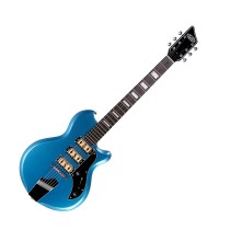 Supro The Hampton - Triple Pickup - Ocean Blue Metallic