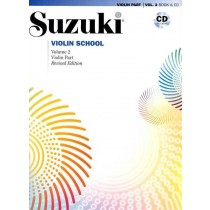 Suzuki Violin School Volum 2 - Violin part - Revidert utgave m/cd
