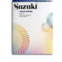 Suzuki Violin School Volum 5 - Violin part - Revidert utgave m/cd