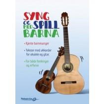 Syng og spill med barna av Øyvind Madsen - Tekster med akkorder for ukulele og gitar