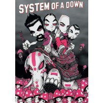 "System Of A Down ""Mushrooms"" - Plakat"