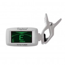 TANGLEWOOD TCT25SIL Multi Tune Clip on Tuner for Guitar/Bass/CHROMATIC in Silver Finish